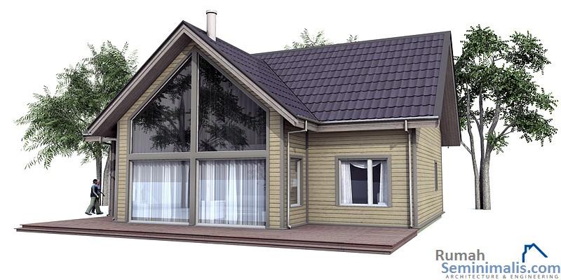 Denah Model Desain Gambar Rumah Minimalis Idaman Sederhana Tipe 102