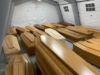 Cum crește ca Făt-Frumos numărul morților de covid-19 în unele țări