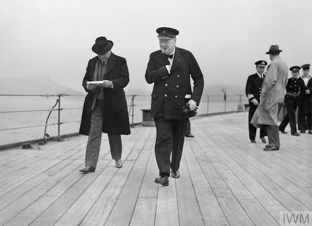 Winston Churchill and Lord Beaverbrook, 11 August 1941 worldwartwo.filminspector.com