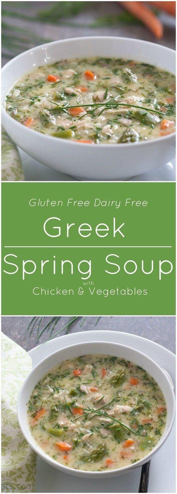 Greek Spring Soup