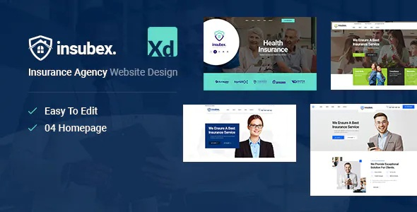 Best Insurance & Consulting XD Template
