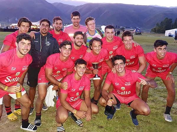 Cerveza Salta - Tigres RC Campeón de la Copa de Bronce - Seven Tafí del Valle