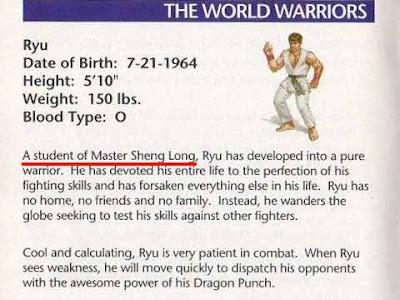 """Libretto di istruzioni di """"Street Fighter II'' per SNES dove si legge Sheng Long"""