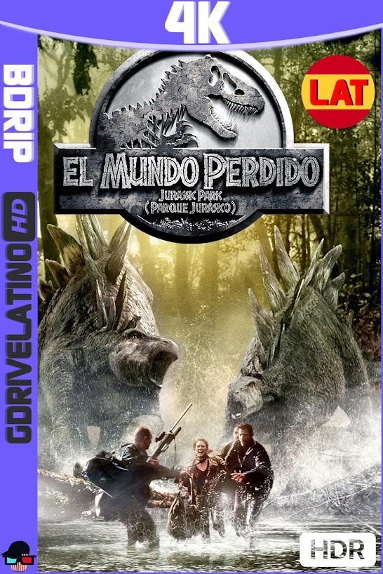 Jurassic Park 2 : El Mundo Perdido (1997) BDRip 4K HDR Latino-Ingles MKV