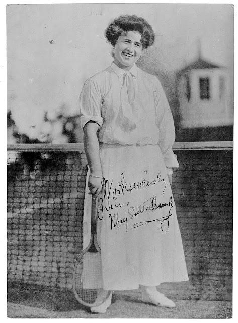U.S. National & Wimbledon Tennis Champion May Godfrey Sutton 1975 Woodlawn Cemetery