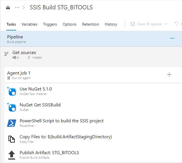 Microsoft SQL Server Integration Services: Azure DevOps