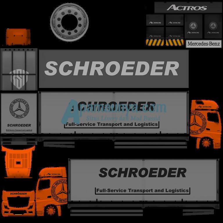 Download Livery Truck Actors Orange Roda 10