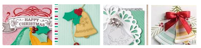 Stamping By Mail - Seasonal Bells - Narelle Fasulo - Simply Stamping with Narelle - available here - https://goo.gl/P1b2Mg