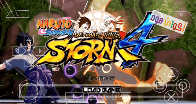 تحميل لعبة ناروتو Naruto Ultimate Ninja Storm 4 للاندرويد ppsspp من ميديا فاير