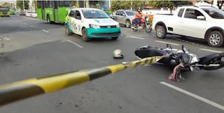Assaltantes são baleados após vítima reagir no centro de Teresina