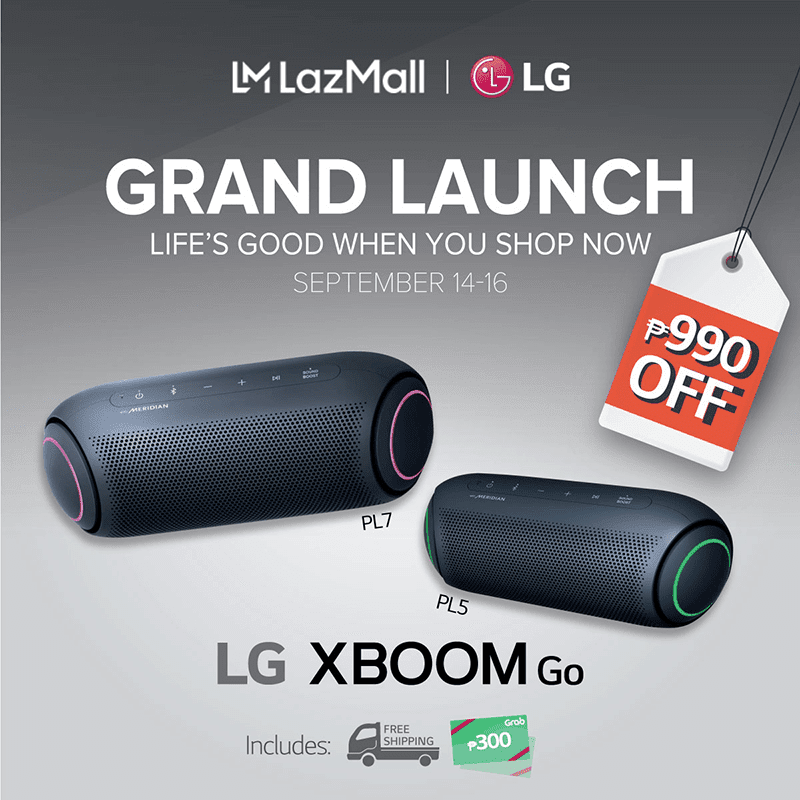 LG XBoom Go PL5 and PL7 will also launch as well