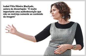 Isabel Pita Ribeiro Machado - dissertação de mestrado da audiodescritora