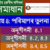 Class: 8, Lesson: 8, পৰিমাণৰ তুলনা, Exercise 8.1 and 8.2| Math Solutions | Assamese