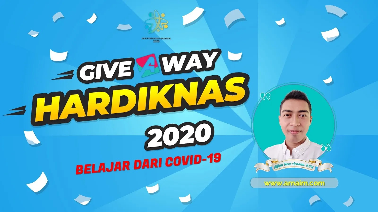 Arnaim.com - GIVEAWAY PERINGATAN HARDIKNAS TAHUN 2020