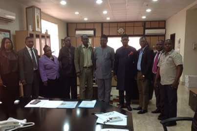 NIGERIA SOCIETY OF ENGINEERS (NSE) SEEKS PARTNER WITH DBIR TO ENHANCE REVENUE COLLECTION.