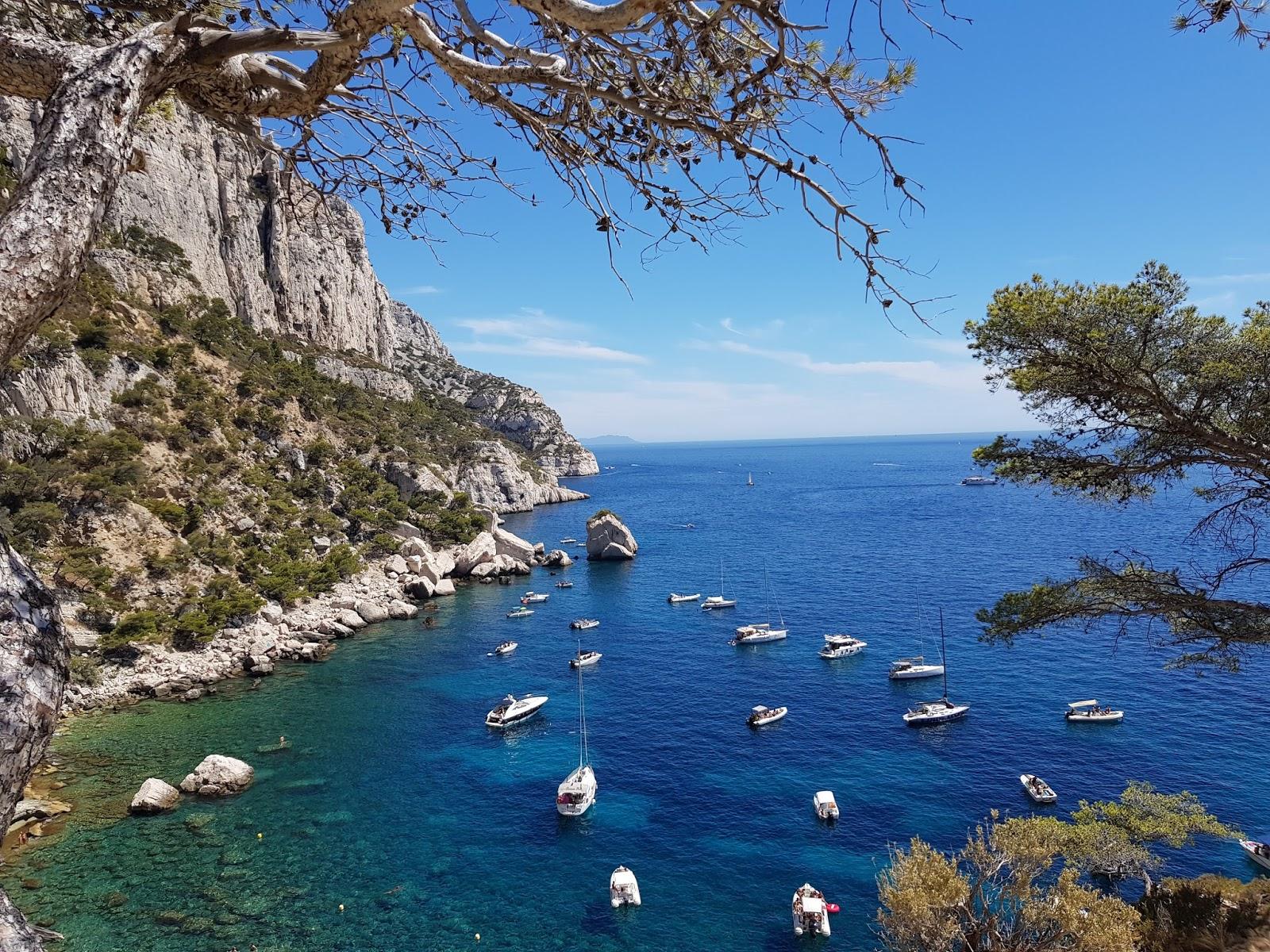 paysage des calanques a Marseille