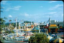 Vintage Disneyland Tickets In Slides - 1950'