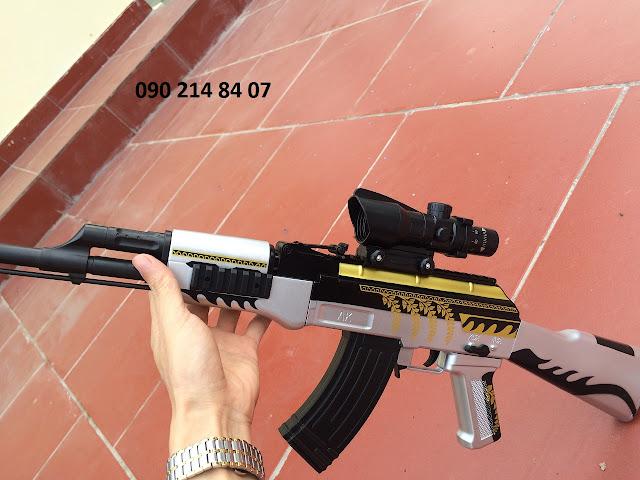 Súng mô hình Pubg đạn thạch AKM _2