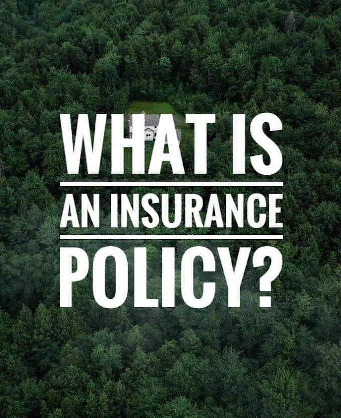 What is an insurance policy?