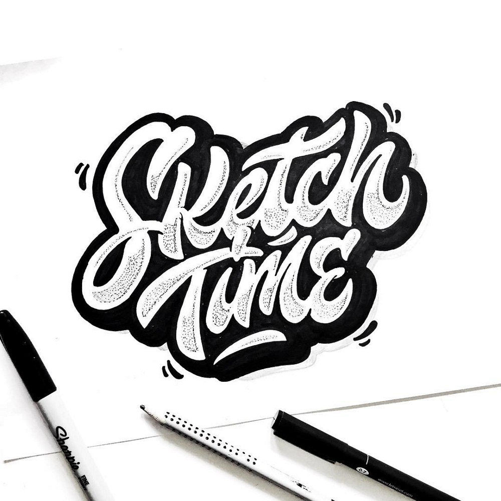 Hand Lettering de Kirill Richert