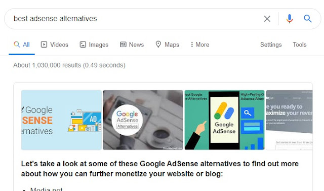 Best Adsense Alternative For Nigerian Bloggers