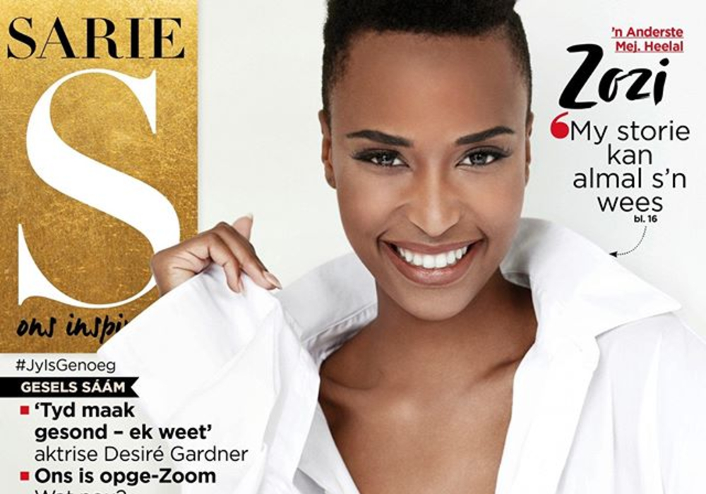 Zozibini Tunzi 'Takes Up Space' On The SARIE Cover For Women's Month!