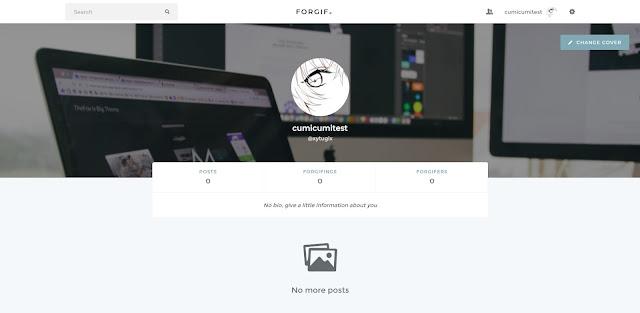 halaman profil