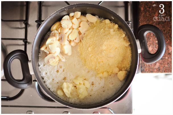 como fazer arroz piamontese