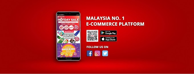 Shopping Online Dengan PGMall Sempena Super Shocking Sale