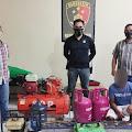 Unit 1 Timsus Maleo Polda Sulut Ringkus Pelaku Pencurian Di Kapal KM Hilari-1