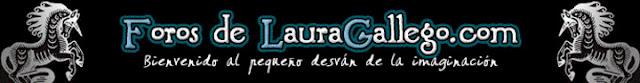 Cabecera antigua de los foros de Laura Gallego