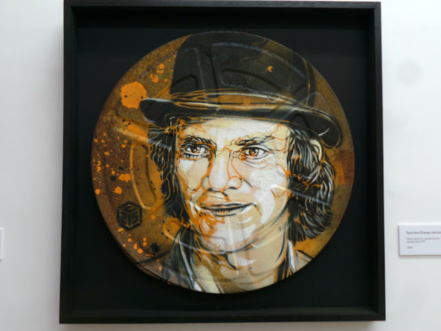 Exposition C215 Christian Guemy Street art pochoir galerie Openspace Paris