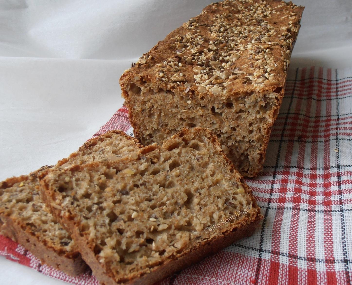 Csilla konyhája, mert enni jó!: Teljes kiőrlésű kenyér..