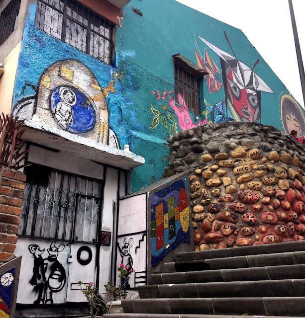 Street Art Tells a Story