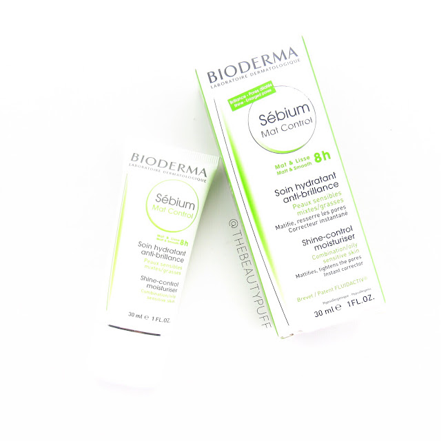 bioderma mat control moisturizer | the beauty puff