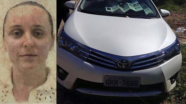 Mulher é encontrada degolada e com os pulsos cortados dentro de carro em Aracaju