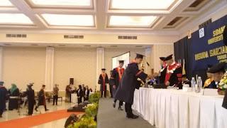 Pesan Rektor UGJ Cirebon Kepada Wisudawan Angkatan Ke 56