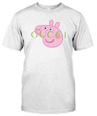 Peppa Pig Gucci T Shirt Hoodie Shirts Sweatshirt