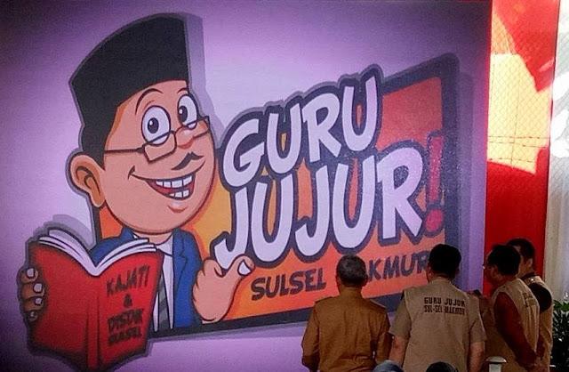 """Bupati Kep. Selayar, Hadiri Deklarasi """"Guru Jujur Sulsel Makmur"""" Di Makassar"""