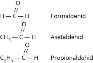 nama trivial aldehid