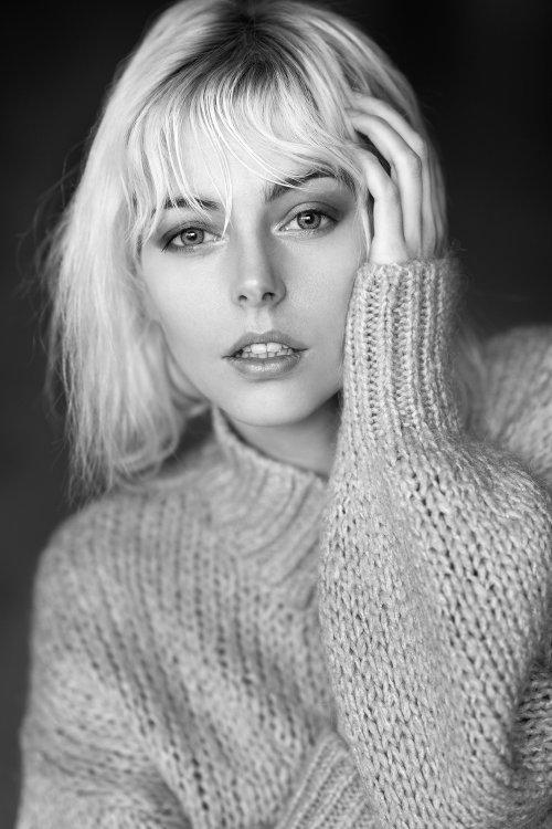 riona neve modelo Bruno Birkhofer 500px fotografia mulheres fashion arte preto e branco loira elegante beleza