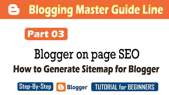 Generate sitemap for blogger