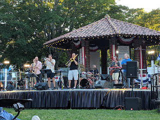 Groove Doctors performing Friday night at the 4th of July Celebration