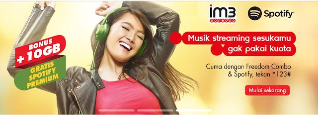 Spotify+Indosat+Ooredo