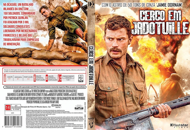 Capa DVD Cerco Em Jadotville