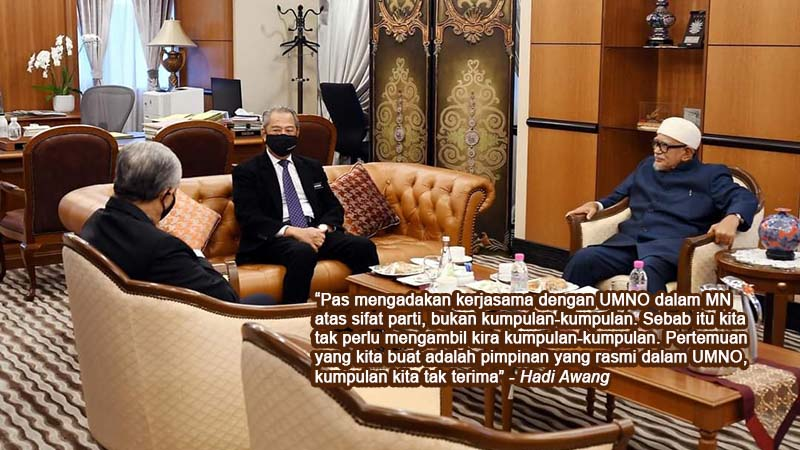 MN: Pas enggan layan kumpulan tertentu dalam UMNO