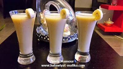 عصير الموز الطبيعي