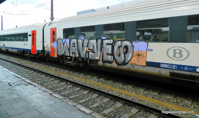 Trem para Bruxelas