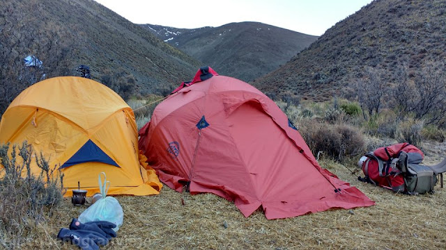 campamento, base, tontal, sierra, norte