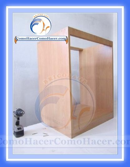 Muebles de cocina construcci n web del bricolaje dise o diy for Manual para hacer muebles de melamina